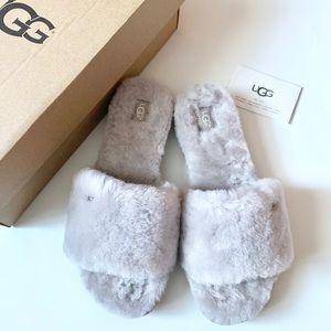 UGG | Cozette Furry Slide Slipper